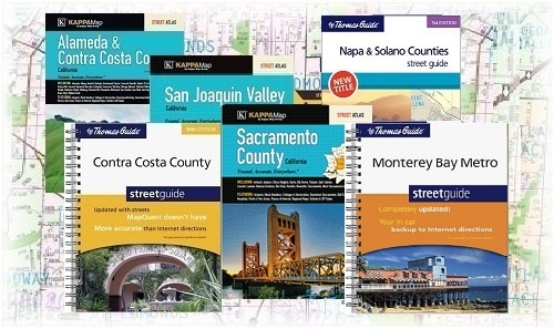 Central California Thomas Guides Map Books Discounted 866 896 Maps