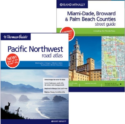 Rand McNally Street Guides and Road Atlases