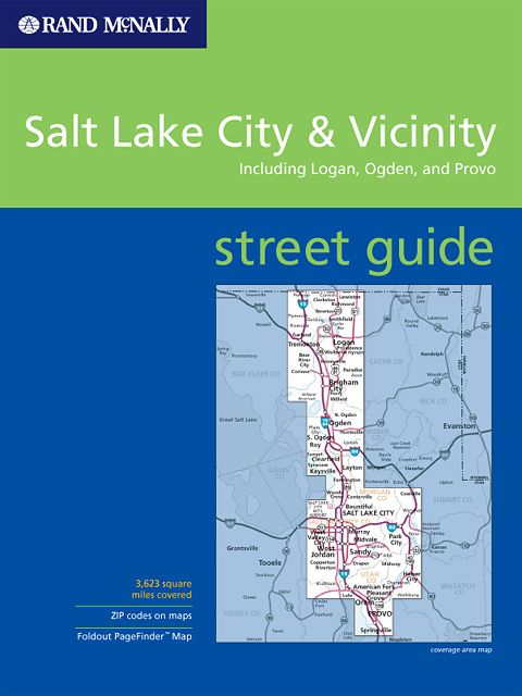Salt Lake City Vicinity Utah Street Guide Rand Mcnally
